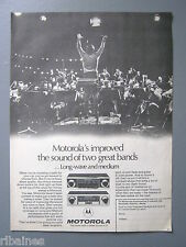 R&L Ex-Mag Advert: Motorola Long Wave and Medium Wave Radio, Sound for all Cars