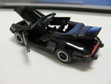 NZG CONRAD #265 PORSCHE 911 CABRIOLET BLK 1/43 DIECAST MODEL CAR O SCALE GERMANY