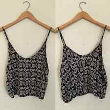 BRANDY MELVILLE Jacqueline Leopard Tribal Scoop Strappy Tank Top