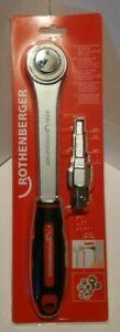 Rothenberger 73297 Uni-Spanner Set with Ratchet Handle