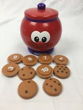 The Learning Journey Count Learn Red Cookie Jar Toy Works Complete