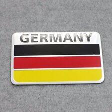 3D Germany Flag Emblem Fits Audi BMW Mercedes OPEL VW Car Badge Decal Sticker
