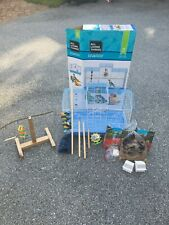 """All Living Things """"Manor"""" Medium Bird Cage w/ Training Perch, Food, and More"""