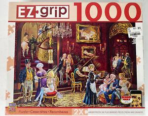 "EZ Grip Puzzle Gentlemens Club 1000 Pc Sealed Not Open 18+ Lee Dubin 39""x27"""