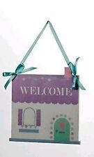 Unbranded Wooden Welcome Decorative Plaques & Signs