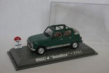 Renault 4 Heuliez Ouverte 1981 - 1/43 - Neuf Boite