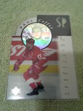 1995-96 Upper Deck SP Paul Coffey Holoview Special FX Diecut Detroit Red Wings
