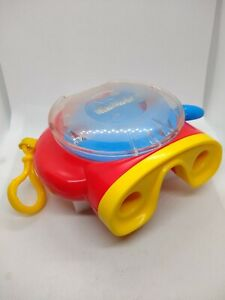 2002 View master Reel Viewer MODEL # 74332 Fisher Price Red Yellow Vintage
