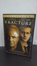 ** Fracture (DVD, 2007, Used) -- Anthony Hopkins, Ryan Gosling