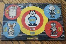 Vintage Lido Toy Felix The Cat Tin Target