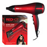 Red Hot Salon Professional Style Hair Dryer 2200W Nozzle Concentrator Hairdryer