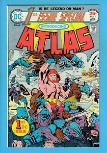 1st ISSUE SPECIAL # 1 VFN (8.0) 1st APPEARANCE of ATLAS- KIRBY- GLOSSY CENTS DC