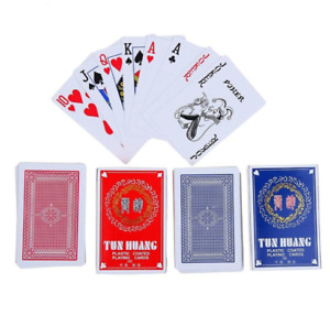 PLASTIC COATED Good Quality Cards Pack Playing Cards
