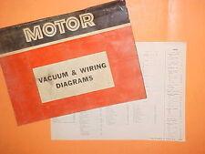 1967 1968 1969 1970 1971 FORD FAIRLANE TORINO GT RANCHERO VACUUM+WIRING DIAGRAMS