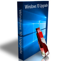 Windows 7 Professional Upgrade To Windows 10 Pro USB + Drivers + Recovery 32 Bit