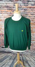 MASTERS Augusta National Golf Shop Men's L/S Green Pullover Windbreaker Jacket S