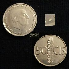 *GUTSE* FRANCO>2, 50 CÉNTIMOS 1966*19-72, PROOF.