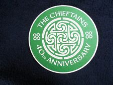 COLLECTIBLE BEERMATS: THE CHIEFTAINS~40th ANNIVERSARY~THE WIDE WORLD OVER