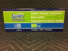 "ORIGINAL Swiffer Sweeper 10"" Wide Mop, Adjustable Length, Green, Top Quality-NEW"