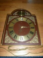 Collectible, Rare Tempus Fugit Wall Clock with Blacksmith Anval Germany