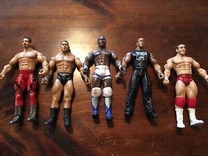 WWE Jakks Pacific Action Figure Lot of 5 Vintage (Lot A)