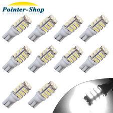 10 x White 42SMD 194 T10 Wedge Trailer LED Backup Reverse Lights 12V