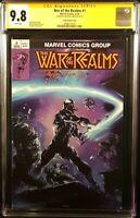 MARVEL Comics WAR OF THE REALMS #1 CGC SS 9.8 Crain Variant VENOM THOR LOKI HELA
