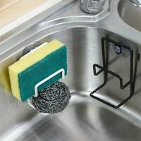 Kitchen Suction Cup Base Brush Sponge Sink Drain Rack Washing 12*7cm Holder Q6H6