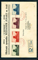 Yugoslavia Stamps 1939 First Day Cover FDC