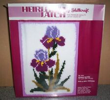 "Heirloom Latch by Shillcraft -  Double Bloom    (14"" x 21"")    #1418"