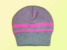 Petit enfant Fille Bonnet D'hiver tricoté Chapeau ballon taille unique NEUF