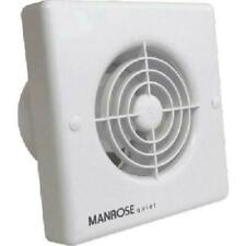 """Manrose QF100T """"Quiet"""" Extractor Fan with Timer for 4""""/100mm duct"""