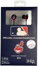 CLEVELAND INDIANS OFFICIAL MLB Baseball IHIP Ear buds IPOD IPHONE COMPATIBLE