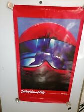 Detroit Grand Prix 1982 Original  Event Poster