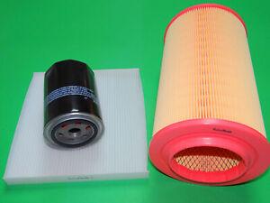 Ölfilter Luftfilter Pollenfilter Fiat Ducato III 3.0 D (107-130kW)