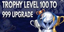 PSN PS3 PS4 VITA Trophy Level 999 Boosting Service