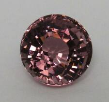 Natural Pink Tourmaline Round 7.04 ct. Nigerian Dusty Rose