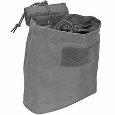 NcStar CVFDP2935U URBAN GRAY Tactical PVC Small Utility Folding Dump Pouch