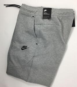 Nike Tech Fleece Joggers Pants Sweats Gray Men's Size M. New. CU4495-063