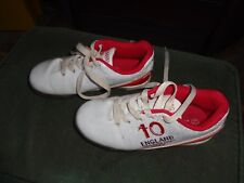 Football Boots/ Astro Trainers size 12 - Branded 'England' Eurochamps