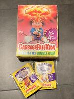 ☆ 1986 Garbage Pail Kids Original 4th Series 4 GPK OS4 BOX & 8 WAX PACKS CLEAN ☆