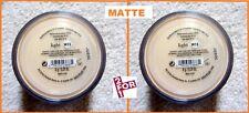 Matte BareMinerals Light W15 New Escentuals Foundation Big Size -Xl- 6g x 2