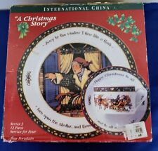 International China A Christmas Story 12 Piece Service Set SERIES 3 Susan Winget