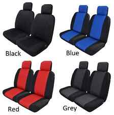PAIR OF NEOPRENE WATERPROOF CAR SEAT COVERS TO SUIT HYUNDAI EXCEL
