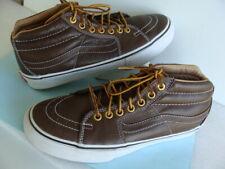 Vans~Pro Classics Brown Leather Trainers/Professional Skateboard Shoe Sz 7 Excel