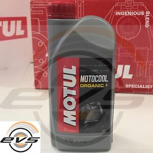 Motul Motocool Factory Line Liquido Raffreddamento Radiatore Moto Organic+ Rosso