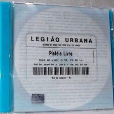 Legiao Urbana - Plateia Livre (Vol.1 and 2) (Live Double CD) - BRAND NEW