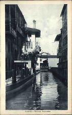 Udine Italien Italy Italia Venetien ~1920/30 Mollino Nascosto Kanal ungelaufen