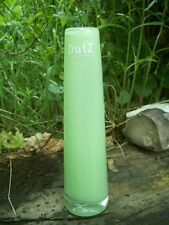 Dutz Collection greenVase grün 21 Glas mundgeblasen rund glasvase solifleur