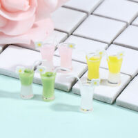 4Pcs 1/12 Dollhouse Miniature Cocktail Cup Drink Glass Toy Doll House Decorat md